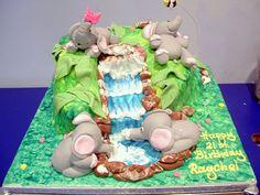 Baby Elephants cake | Flickr - Photo Sharing!