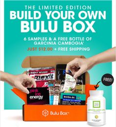 Bulu Box Limited Edition Build-Your-Own Box Available Now - For a limited time - build your own Bulu Box for just $12!