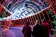 Bentleyville in Duluth. #christmas