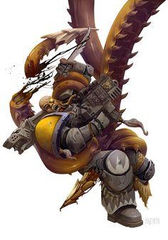 Warhammer 40000,warhammer40000, warhammer40k, warhammer 40k, ваха, сорокотысячник,фэндомы,Imperium,Империум,Tyranids,Тираниды,Space Wolves,Space Marine,Adeptus Astartes