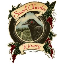 Sweet Cheeks Winery and its 65 acre Estate Vineyard sit on 140 acres of prime sloping hillside located in the heart of the Willamette Valley wine appellation near Crow Oregon. The vineyard grows Pinot Noir, Pinot Gris, Chardonnay, and Riesling.
