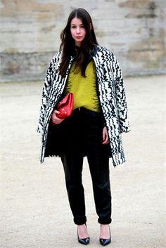 Paris Fashion Week Street style 2013