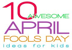 April Fools Day can be super fun with these 10 awesome April Fools Day ideas for kids. Prank your kids or let them prank someone, your kids will have a blast! Can you believe that April Fools Day i… April Fools Pranks, April Fools Day, Columbus Day, Activities For Kids, Crafts For Kids, Dr Seuss, Practical Jokes, To Infinity And Beyond, Kids Corner