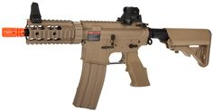 Refurbished G&G Top Tech TR16 CQW DST FPS-350 Blowback Electric Airsoft Rifle