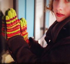 Free knitting patterns for adult gloves and mittens. Make a pair of mittens for yourself and another as a gift. Knitting Patterns Free, Free Knitting, Fun Patterns, Wrist Warmers, Hand Warmers, Beanie Pattern Free, Free Pattern, Knitted Gloves, Fingerless Gloves