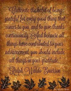 Thanksgiving tree quote
