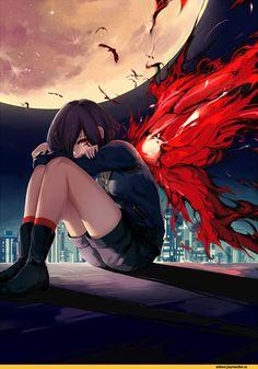 Kirishima Touka,Tokyo Ghoul,Anime