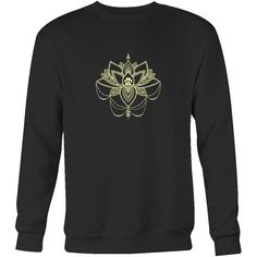 Paw Lotus 2017 Dark Crewneck Sweatshirt