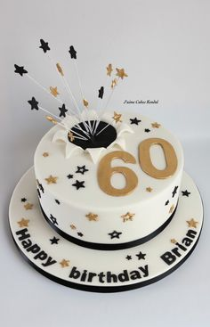 60 Th Birthday Cake
