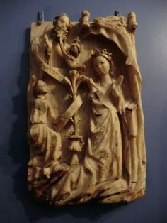 Alabaster carving Musee Cluny,Paris