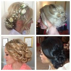 Beautiful wedding hair by Lots of Lovely
