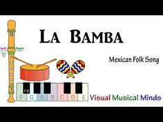 Special thanks to all the students who helped in making this video from Langley Park McCormick Elementary School in Maryland. La Bamba is a wonderful Mexican. Elementary Choir, Elementary Spanish, Guitar Chords And Lyrics, Guitar Songs, Songs To Sing, Kids Songs, Teaching Music, Listening To Music, Old Folk Songs