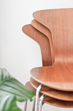 Arne Jacobsen chairs in my home Arne Jacobsen Chair, Chairs, Interior, Furniture, Ideas, Home, Design, Indoor, Ad Home