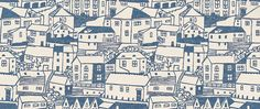 St Ives wallpaper by Sanderson