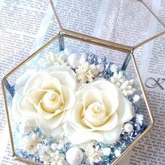 Flower Box Gift, Flower Boxes, Flowers, Civil Wedding, Wedding Glasses, Glass Terrarium, Acrylic Box, Blossoms, Floral Arrangements