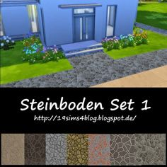 19 Sims 4 Blog: Stone floor • Sims 4 Downloads