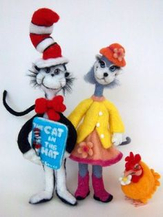 Seuss Characters | Needle Felting
