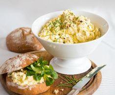 Lehká vajíčková pomazánka | Recepty Albert Risotto, Potato Salad, Macaroni And Cheese, Potatoes, Ethnic Recipes, Food, Mac And Cheese, Potato, Essen