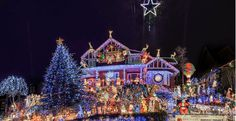100,000 Christmas Lights for Charity illuminate North Vancouver home ... The house is located at 4967 Chalet Place, at the top of Skyline Drive, in North Vancouver.