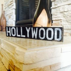 Hollywood, California Sign by AmysReclaimed on Etsy.