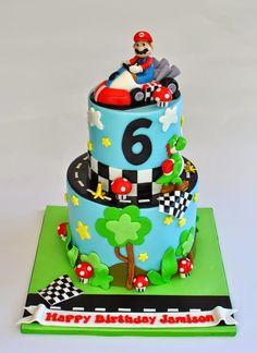 Mario Cart Cake, hopessweetcakes.com, Hope's Sweet Cakes
