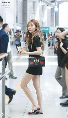 160714 HyunA @ ICN Airport