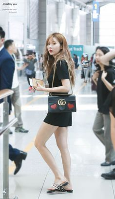 Korean Airport Fashion : Photo
