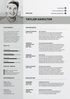 Professional Resume template / CV template with free Cover letter template / MS ---CLICK IMAGE FOR MORE--- resume how to write a resume resume tips resume examples for student Free Cv Template Word, Cv Templates Free Download, Resume Design Template, Creative Resume Templates, Indesign Resume Template, Free Cover Letter, Cover Letter Template, Cv Manager, Cv Photoshop