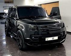 Land Rover Defender 110, Black Diamond, Urban, Vehicles, Car, Autos, Automobile, Black Diamonds, Cars