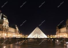 Midnight Louvre Pyramid Night Paris, France Pyramid Architecture Original Fine Art Photography Wall Art Photo Print. This is a photo I took at the Louvre at night. This place was absolutely spectacular! The architecture, amazing! Be sure to check out more photos from my European travels! Beautiful, unique and all original, prints by Joan Wilcox- Glanville. Each print comes in a clear resealable archive bag ready for framing. All are original prints and are handmade and printed by the…