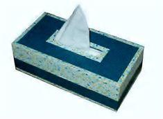Boîte à mouchoirs - tuto