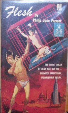 Philip Jose Farmer, Flesh, true first edition, published by Galaxy