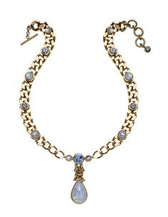 THE ORIENT EXPRESS COLLECTION  Pearl of Siberia Opalescent glass and Swarovski crystal necklace  Fall/Winter Collection. Made in Italy  Available now for pre-order.  Shipment in October