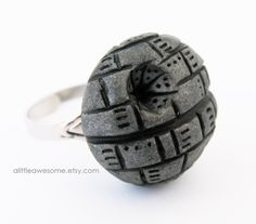 Star Wars Death Star RING by Alittleawesome on Etsy, $14.00