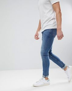Tight Jeans Men, Men's Jeans, Blue Jeans, Super Skinny Jeans, Wardrobes, Mathematics, Latest Trends, Asos, Tights