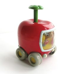 lowly worm | Vintage Lowly Worm Push-and-Go Apple Car