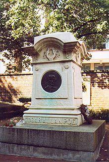Edgar Allan Poe. Cementerio de Baltimore.
