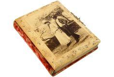 Victorian Celluloid Photo Album by SilverCupVintage on Etsy
