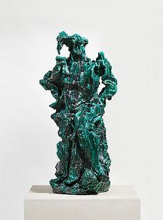 Lucio Fontana, Il Guerriero (The Warrior), 1949 - exposition Lucio Fontana – Sculptures