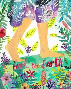 feel the earth