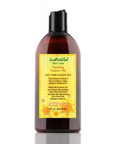 This was my first 100% natural tanning indoor oil... It got me dark so quick!! There is a nice herbal smell and it makes your skin silky smooth. I have super sensitive skin, very easy to break and this tanning oil so far is the best solution to my itchy dry skin problem… while making you dark, quickk! Deff worth it.