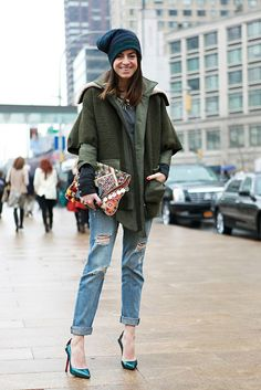 street style from new york fashion week, day seven - leandra medine [man repeller]