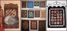 Display Ideas for Small Quilts