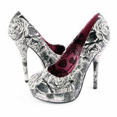 Tomorrows Sorrow platform heels