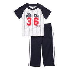 Carter's Toddler Knit Pant Set – « Clothing Impulse Cute Baby Boy Outfits, Little Boy Outfits, Cool Outfits, Carters Baby Boys, Toddler Boys, Band Hoodies, Baseball Pants, Hipster Shirts, Knit Pants
