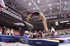 B Sauce by Kyle Ford | www.phoenixfotos.com, via Flickr  women's gymnastics, WAG, awesome shot of gymnast on vault