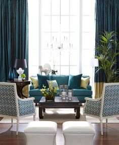 Need To Know: 10 Commandments Of Arranging Furniture. Colors For Living RoomBlue  ...