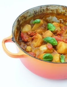 Tinned Tomatoes: 5:2 Diet - Moroccan Style Potato Bake = 233 calories