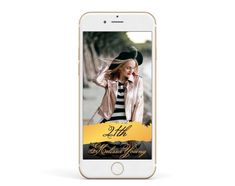 Gold Wording 21st BIRTHDAY Snapchat Geofilter for a Twenty one Birthday Party with Snapchat Special Filter, Any age Twenty First Birthday, First Birthday Parties, First Birthdays, 21st Birthday Invitations, Welcome Poster, Twenty One, The Twenties, Snapchat, Filter