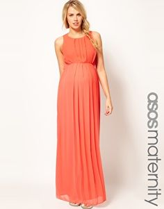 ASOS Maxi Dress...maybe hemmed?  It says maternity but I think it would fall nicely even without a baby belly!